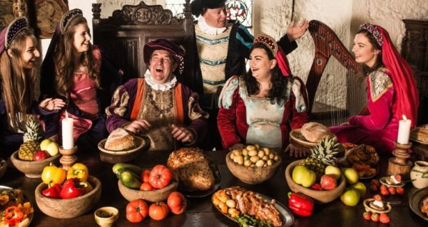 Medieval banquet in Halloween in Ireland tours