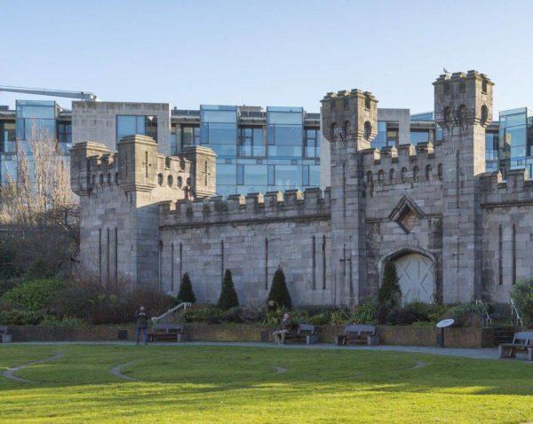 Dubllin castle in your Halloween in ireland tour